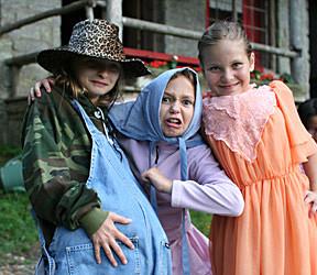 Granny Dressed Kids