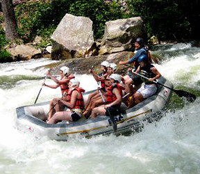 Whitewater Rafting Campers