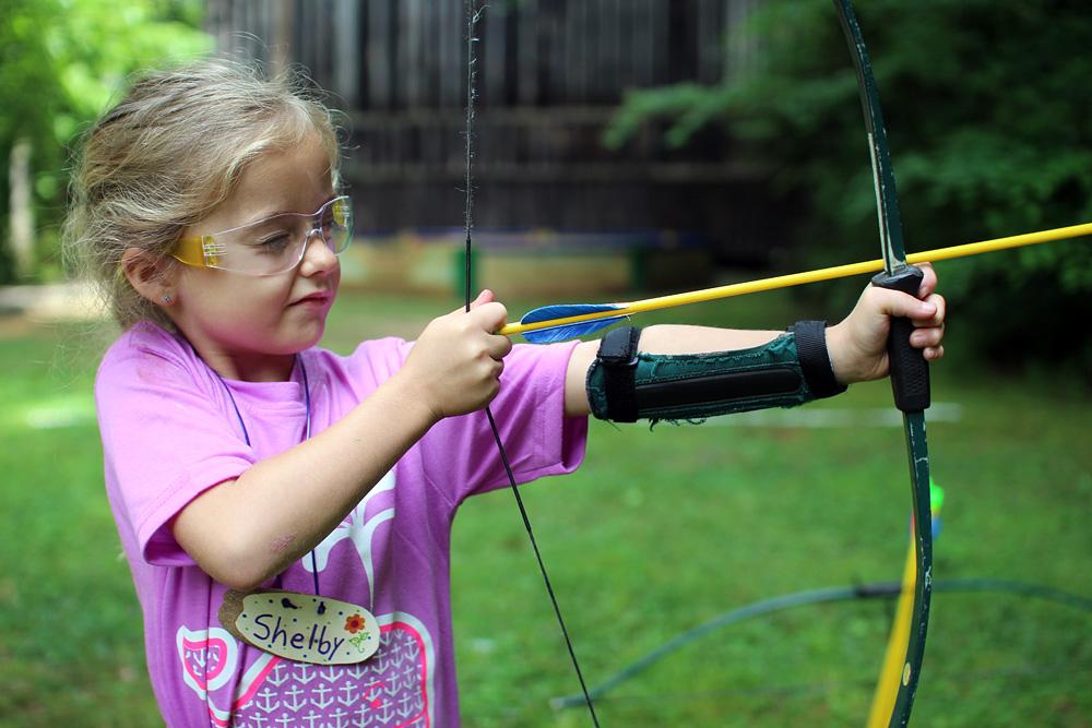 Archery Camp Girl
