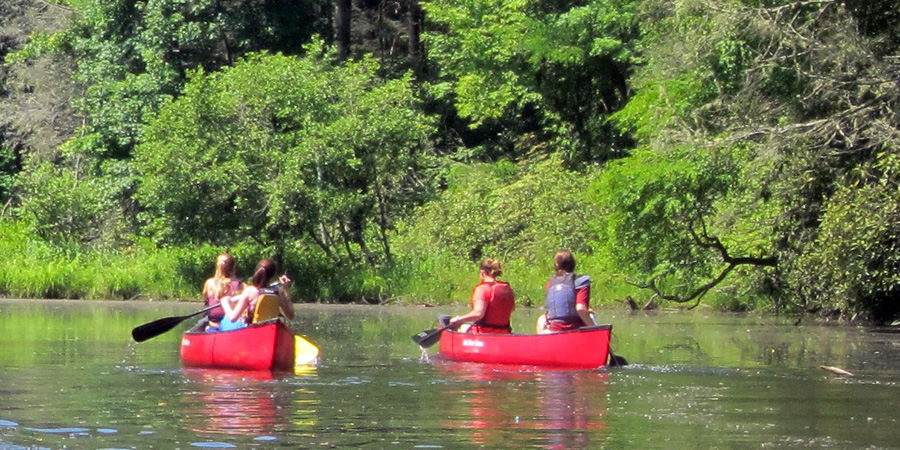 Cascade Lake Canoe Trip