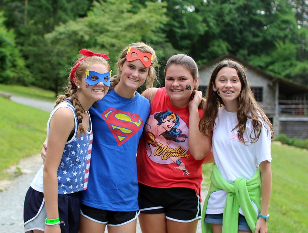 Camp Costume Girls
