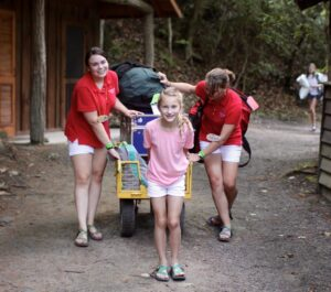 Moving into summer camp