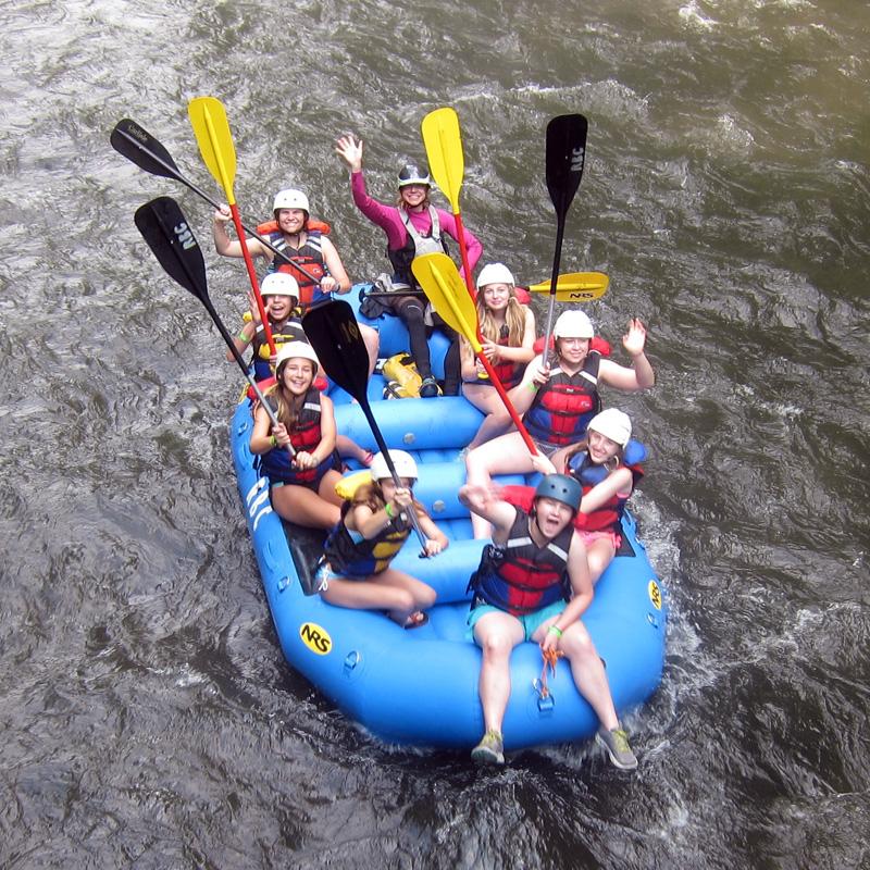 Rafting Camp Fun