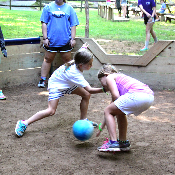 Gaga Ball Players