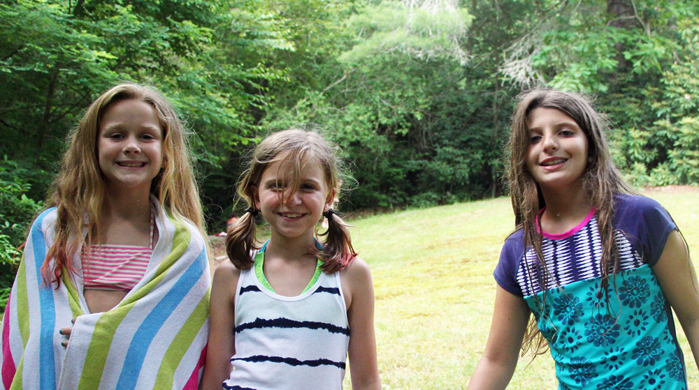 Girls Camp Summertime