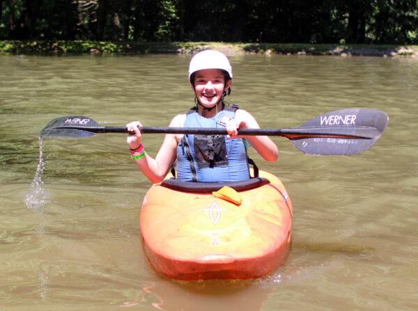 Kayaker Kid Camp