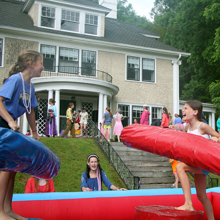 Renaissance Jousting Game for Camp