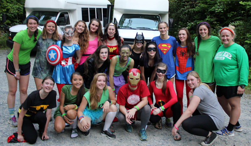 Cmp Super hero costume party