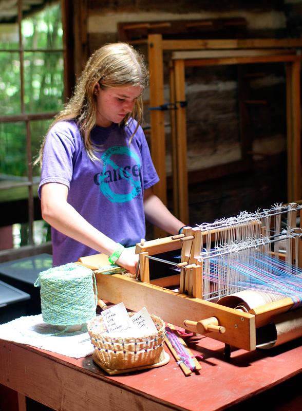 Camp Weaving Kid