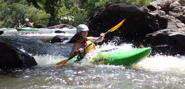 Brave Camp Kayaker