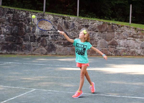 Camp Tennis Girl
