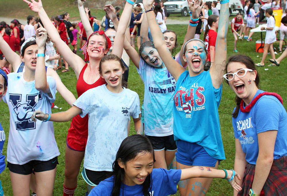 crazy camp girls
