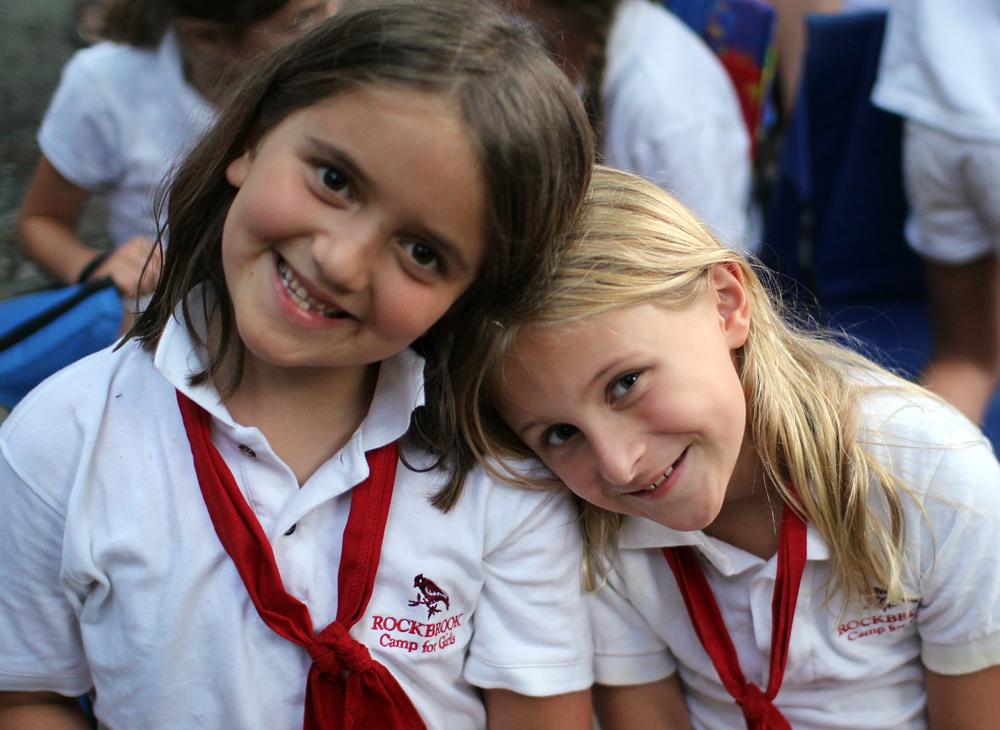 Girl Camp Kids