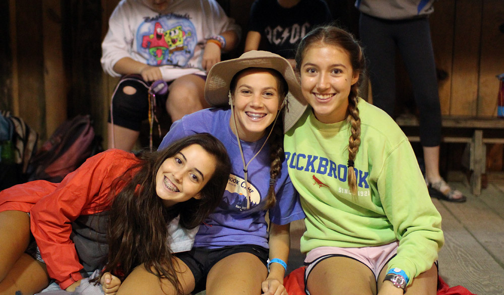 Girls Camp Campers
