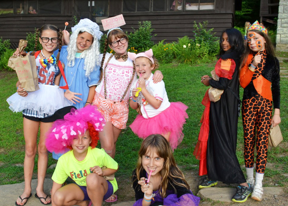 Halloween Costumes Campers