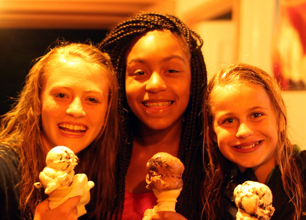 Ice Cream Camp Girls