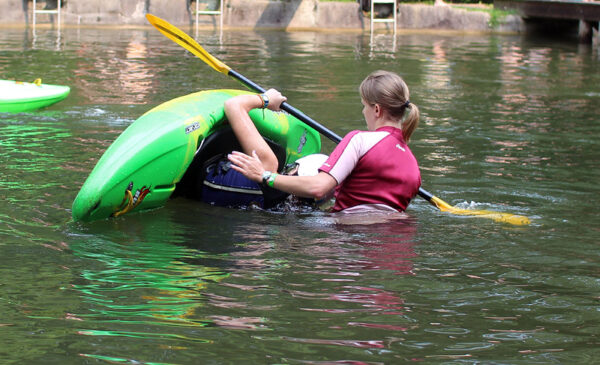 Kayak Camp Roll Clinic