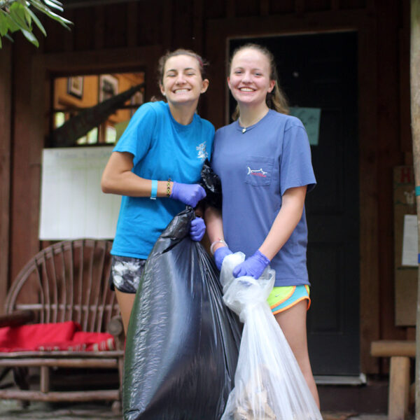 Teenager girls chores