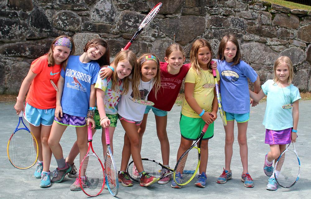 Tennis Camp Girls