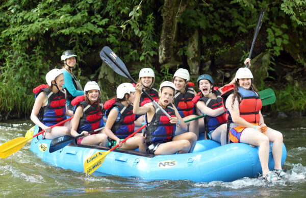 Whitewater Rafting Camp