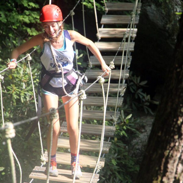Zip Canopy Course Bridge
