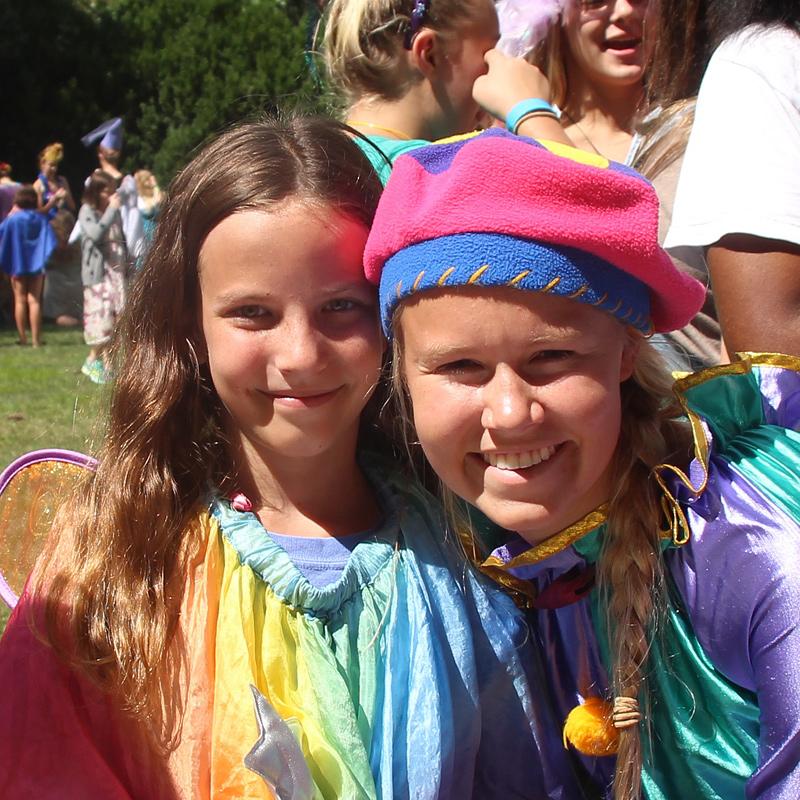 Girls Festival Costumes