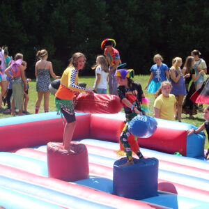 Festival jousting inflatable