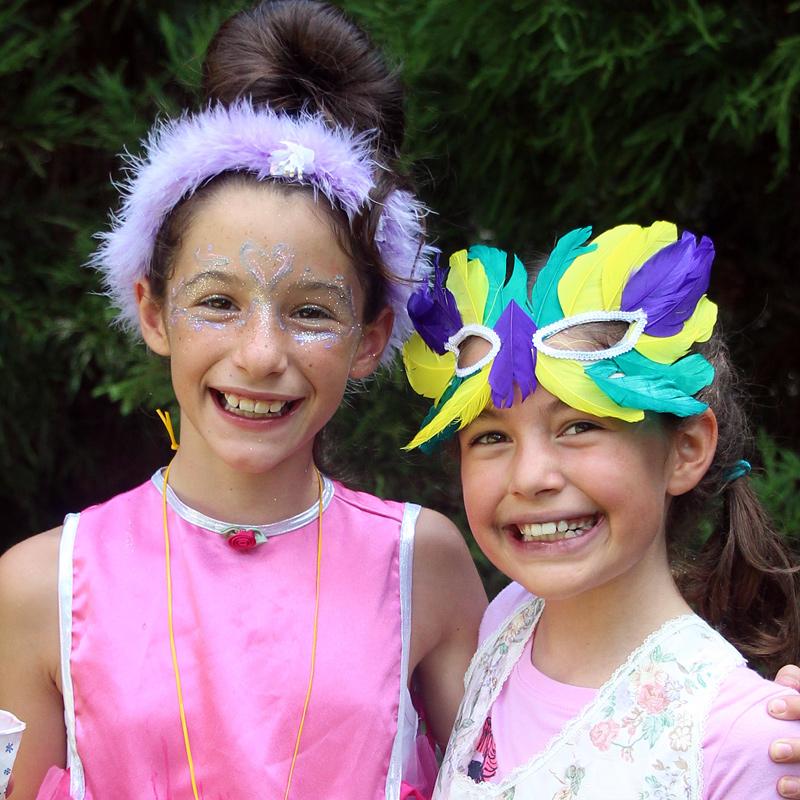 Festival Kids in Costume