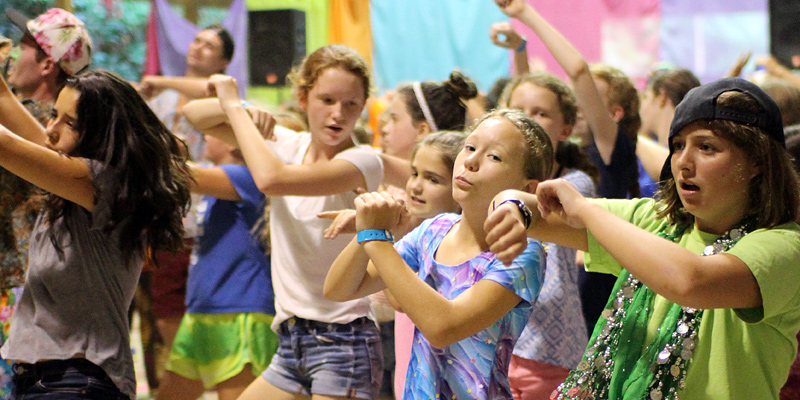 Camp Dance Younger Girls