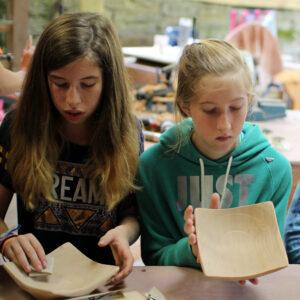Sanding Wooden Bowls