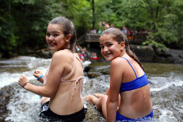Sliding Rock North Carolina Campers