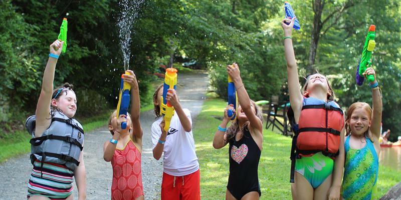 Water Pistol Lake Game