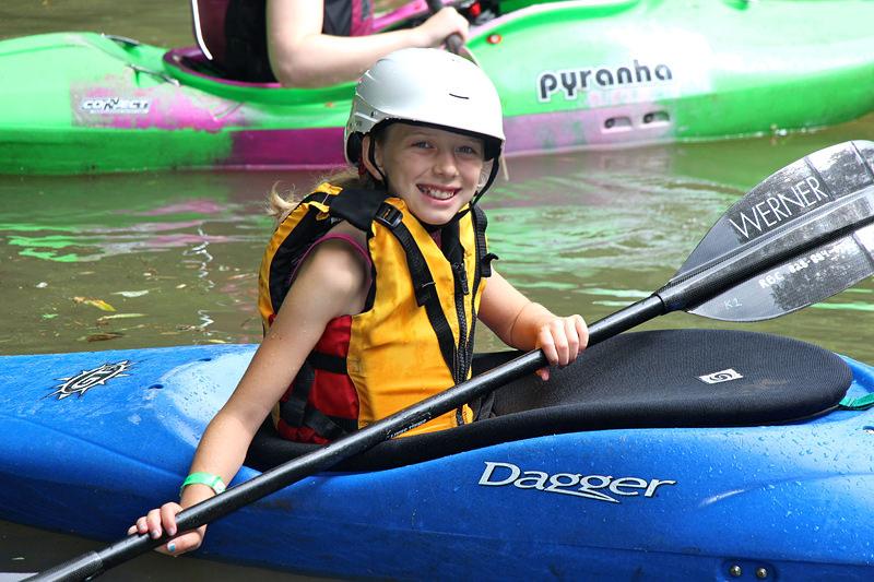 Girls Kayak Camp