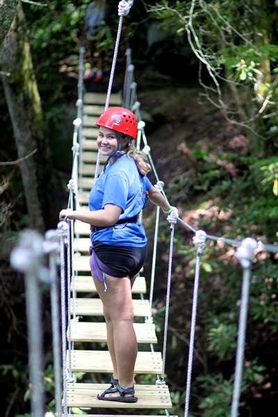 Zip Line High Bridge