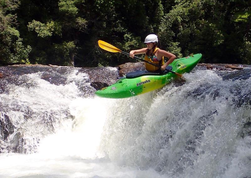 Kayak Camp Girl