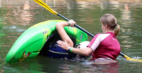 Whitewater Kayaking Camp Instruction
