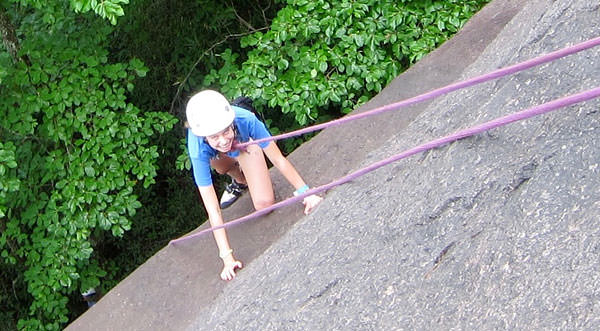 Rock Climbing Kid