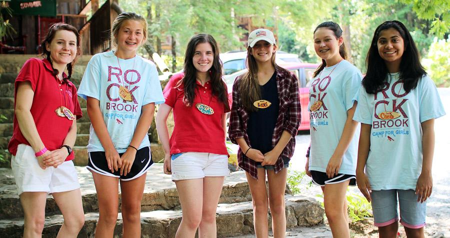 Girls Camp Arrivals