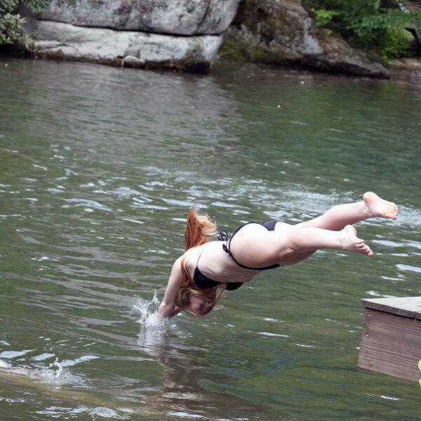 Camp Lake Dive