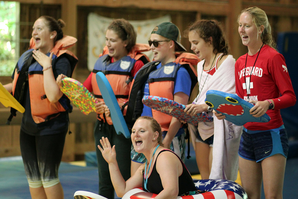 Camp lifeguard Skit