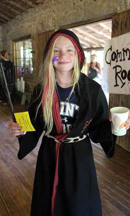 Summer Camp Wizard Girl