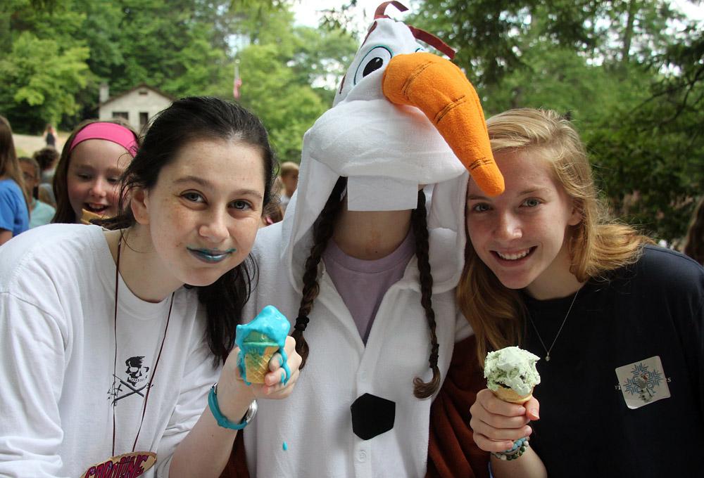 Ice Cream Olaf