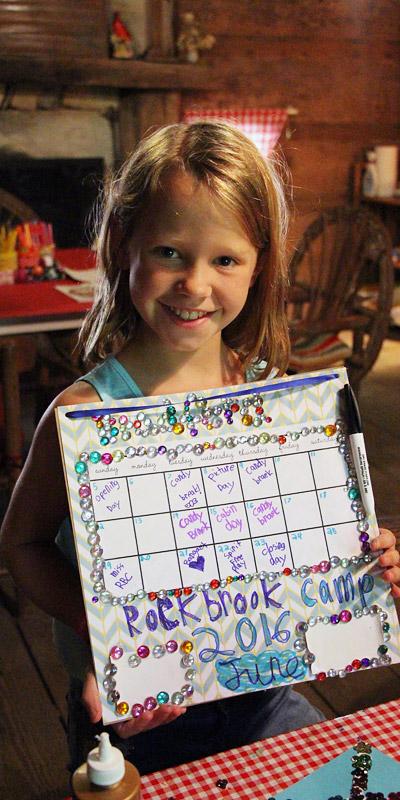 Love Rockbrook Calendar