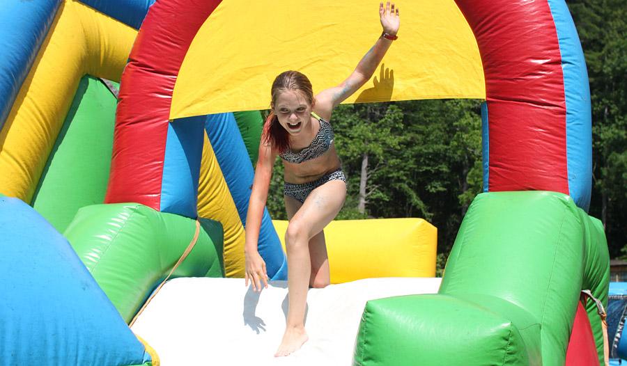 Camper Obstacle Fun