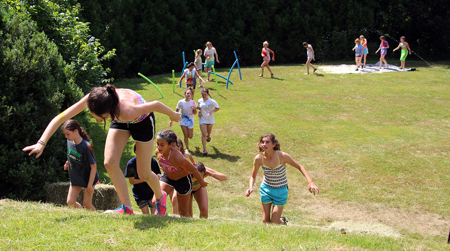 Obstacle Race kids