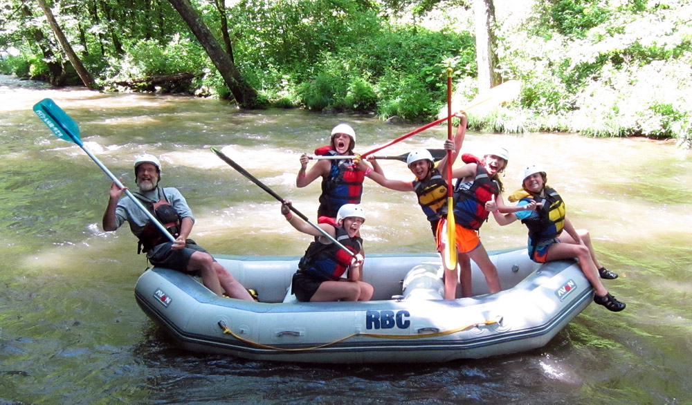 Rockbrook Whitewater Rafting