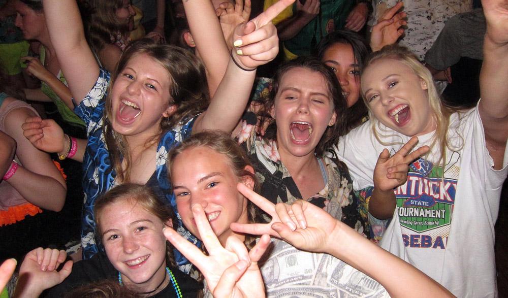 Senior Girl Camp Dance