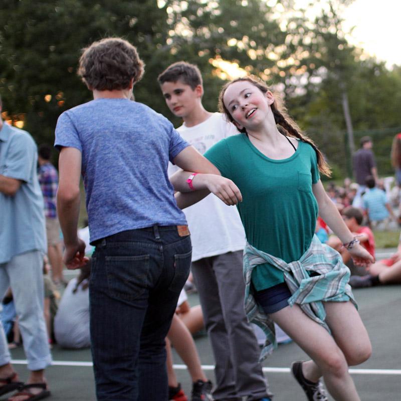 Swing dance partner