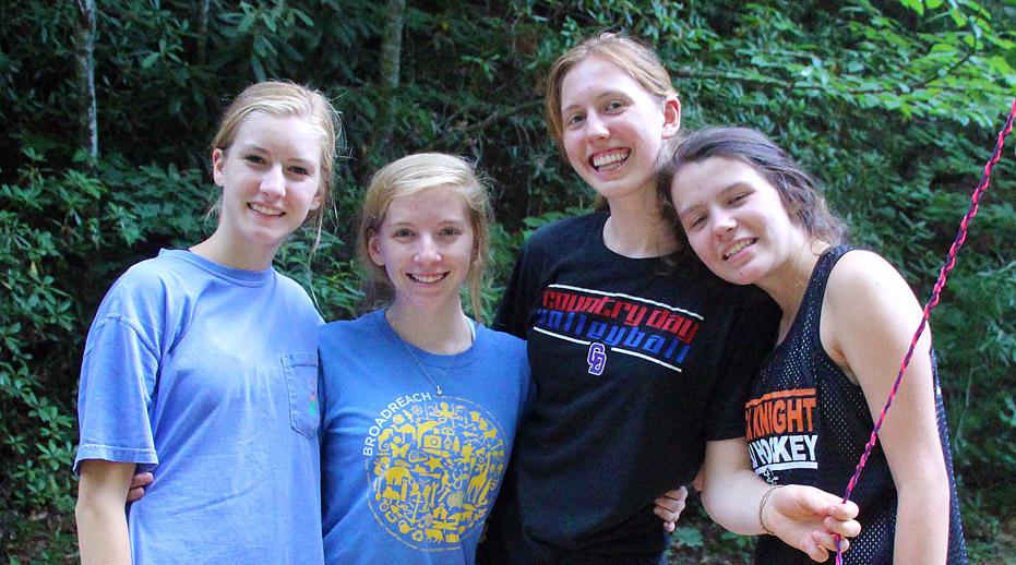 Teen Camp Girls