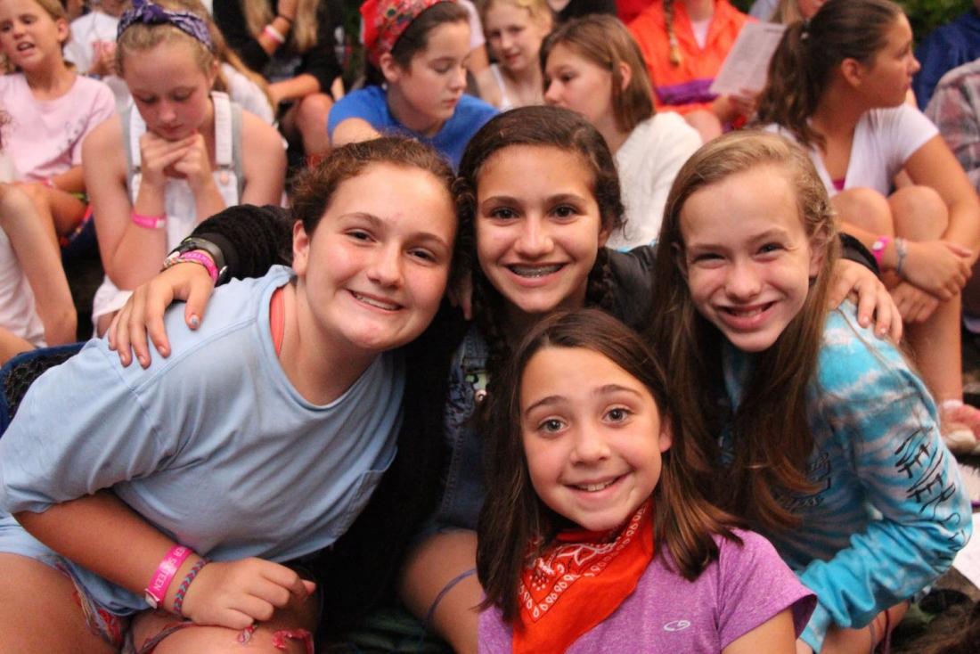 campfire girl friends